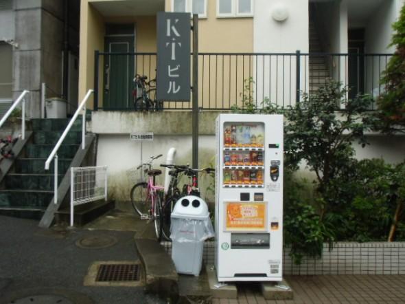 ポッカサッポロの自販機