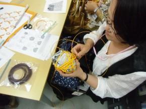 編みカフェ活動風景