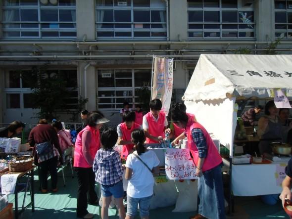 「フェスタ上富」にて編みカフェ製作品を販売